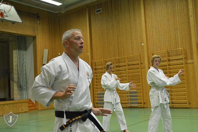 Judo och karate i Järnboås