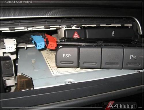 70944 - Instalacja przełącznika deaktywacji poduszki pasażera AIR BAG OFF - 22