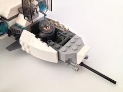 lego galaxy trooper at the controls...