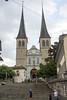 День 8. Люцерн - это оказлась Церковь Хофкирхе - главная городская церковь. Построена в 17 веке на основе римской базилики.