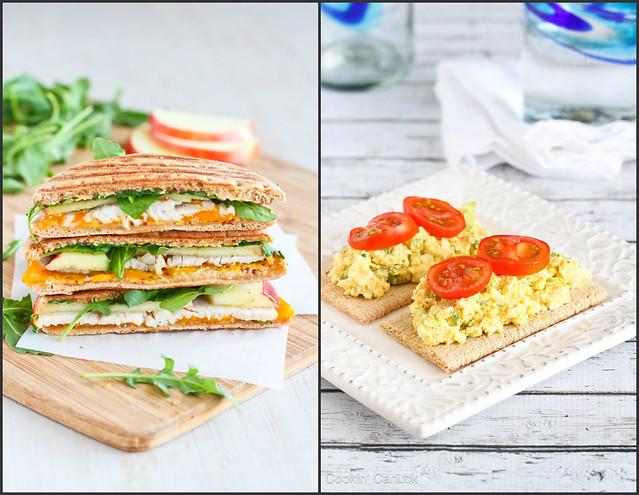 Light Lunch Recipes   cookincanuck.com #healthy