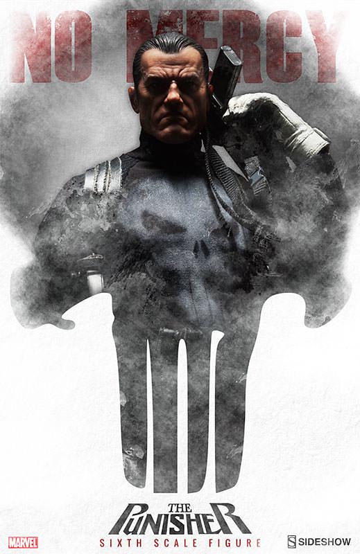 絕對暴力的制裁者!Sideshow 1/6 寫實超級英雄第二彈:懲罰者