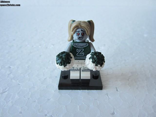 Lego Minifigures S14 Pompom girl zombie