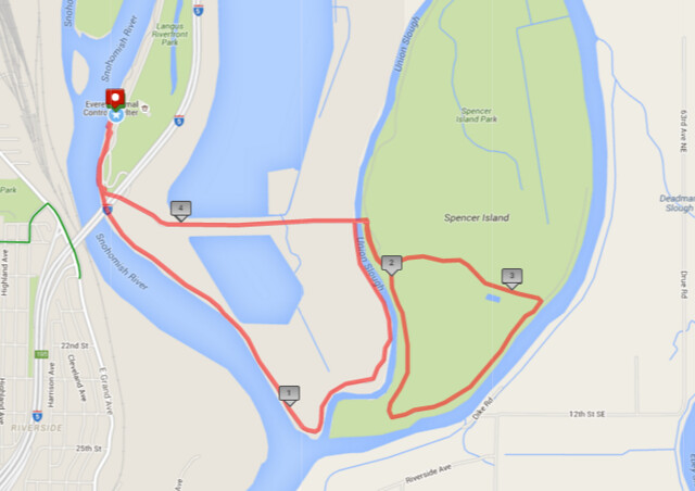 """Today""""s awesome walk, 4.5 miles in 1:24, 9,675 steps"""