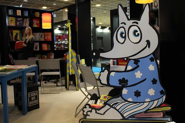 Loulou (L'école des loisirs) - Frankfurt Buchmesse 2015