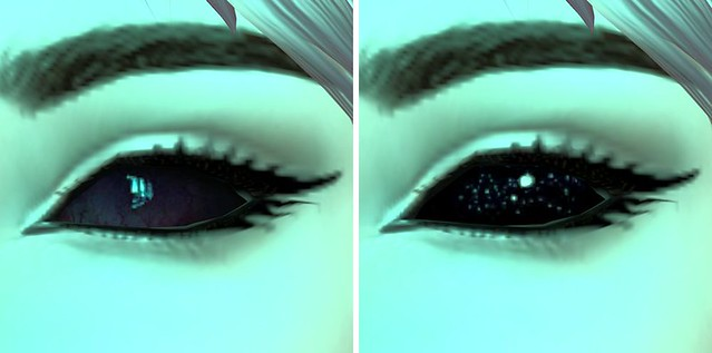 Spectral eyes from PXL