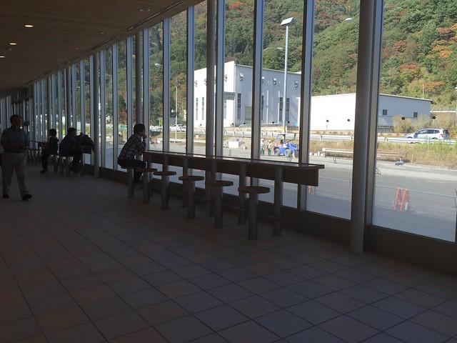 関越自動車道 下り 谷川岳パーキングエリア