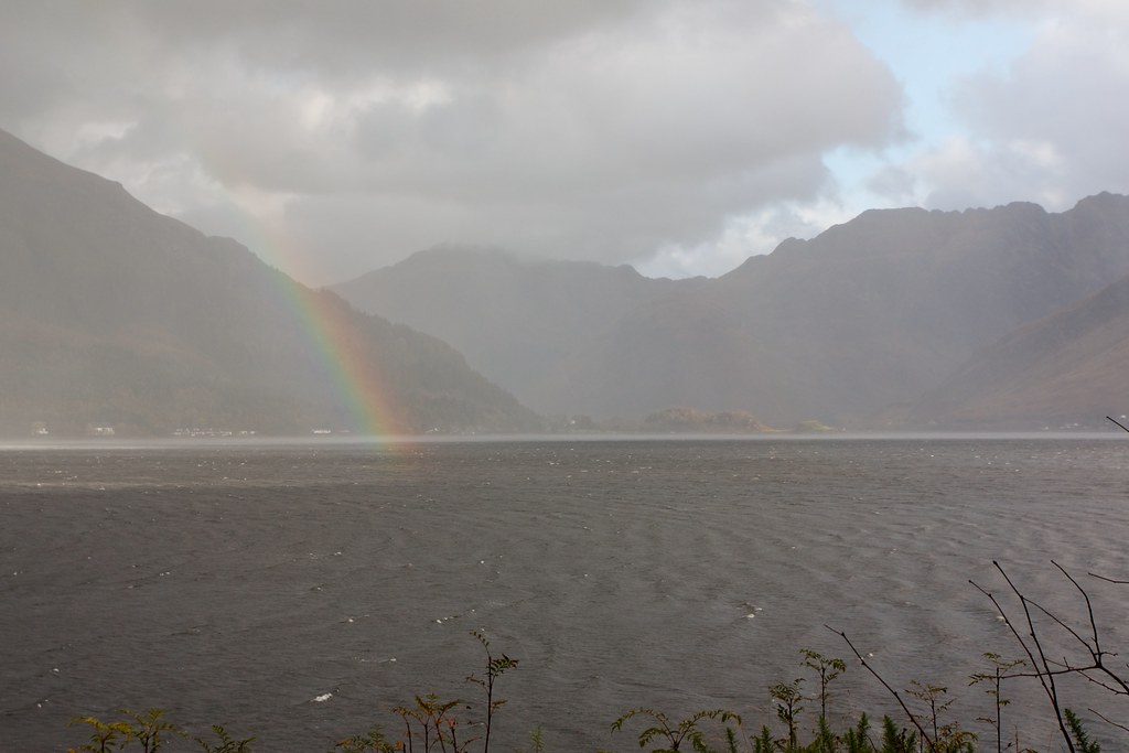 Hail and Rainbow, Loch Duich