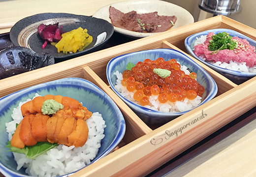 Yuzu 06 - Yuzu Special Don Lunch Set
