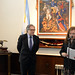 Secretary General Almagro re-inaugurated the San Martin Room at OAS headquarters