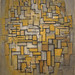 Piet Mondrian, Composition in Brown and Gray, 1913, MOMA by Sharon Mollerus