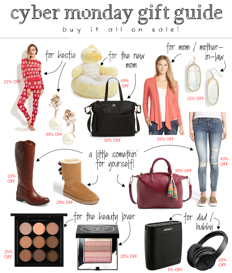 cute & little blog | cyber monday holiday gift guide for everyone