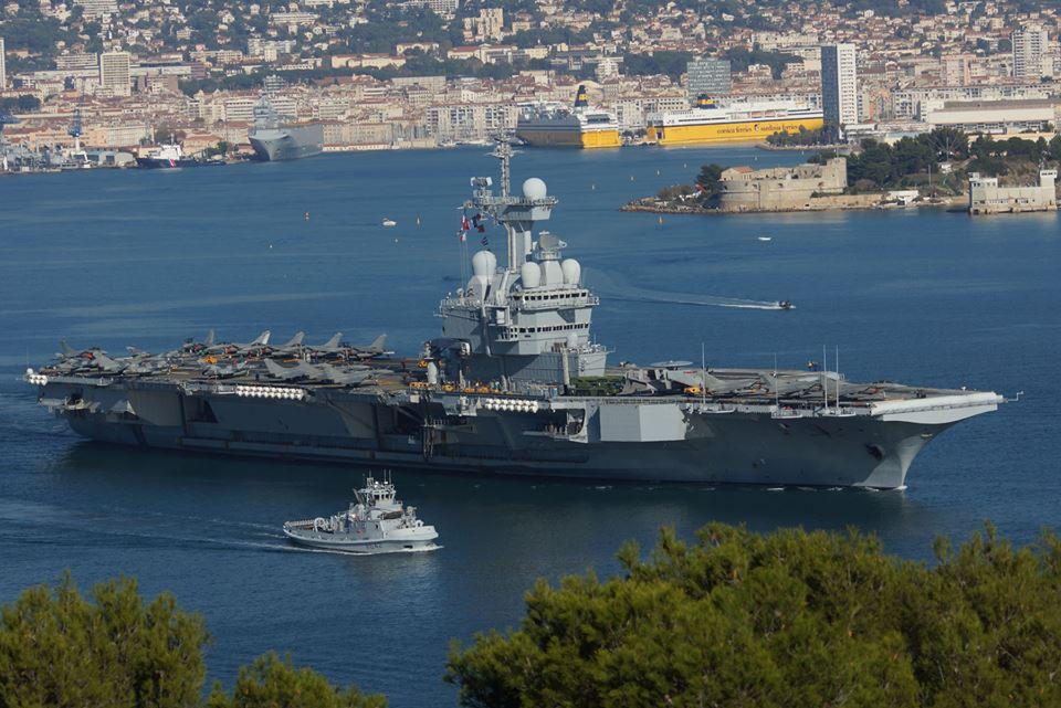 Le F930 Léopold escortera le porte-avions Charles de Gaulle - Page 2 23128362201_4f609874b6_o