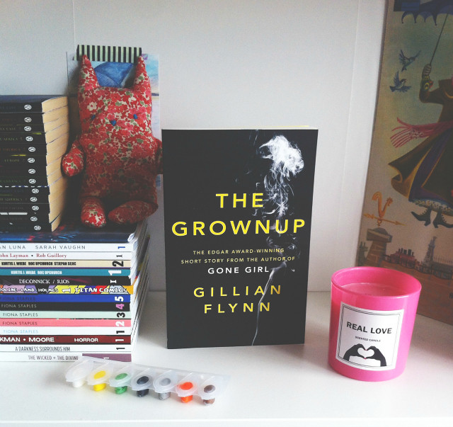 vivatramp book blog the grownup gillian flynn