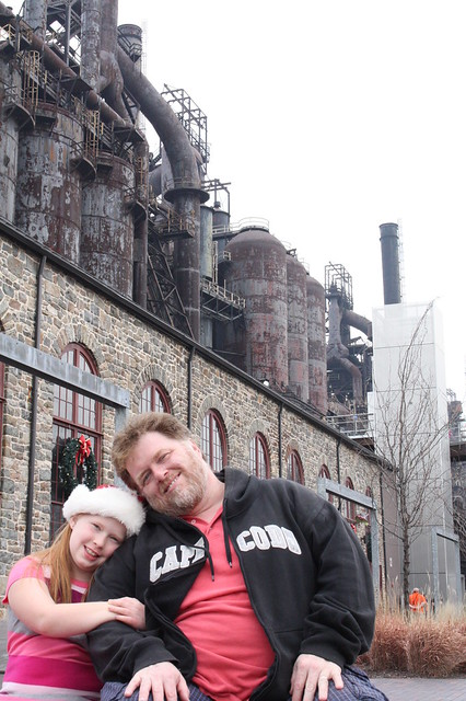 Paul & Tabby at Steel Stacks