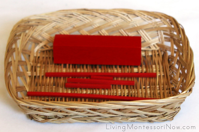 Matching Length Basket (Red Rods Extension)