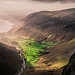 Wasdale Valley from Gable by AntiAtlas