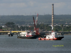 M/T Seapine & unknown tugboat