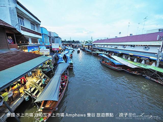 泰國 水上市場 安帕瓦水上市場 Amphawa 曼谷 旅遊景點 40
