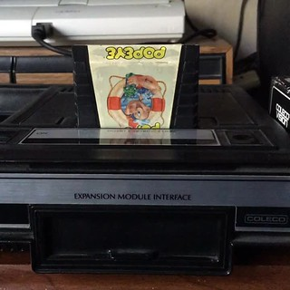 Nintendo's Popeye for the Colecovision.#popeye #colecovision #nintendo #coleco #videogames #retrogaming
