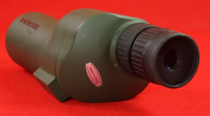 RD14520 Winchester WT-541 Spotting Scope with Bag  DSC05904