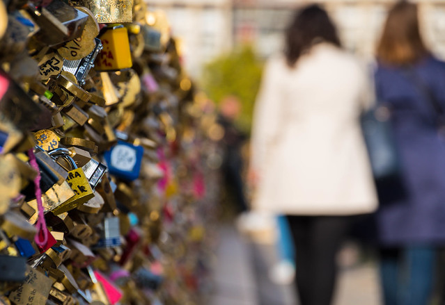 Pont neuf padlock/lovelock
