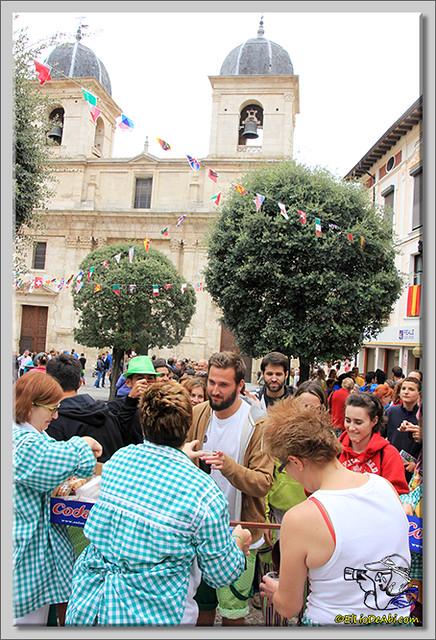 Briviesca en Fiestas 2.015 Primer encierro y chocolatada popular (17)