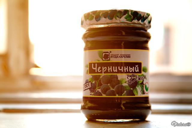 Blueberrie jam. Karelia