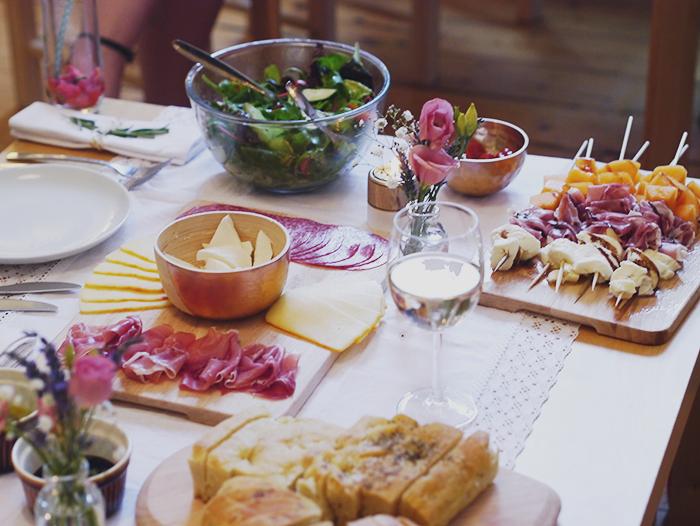 argos dinner party 4