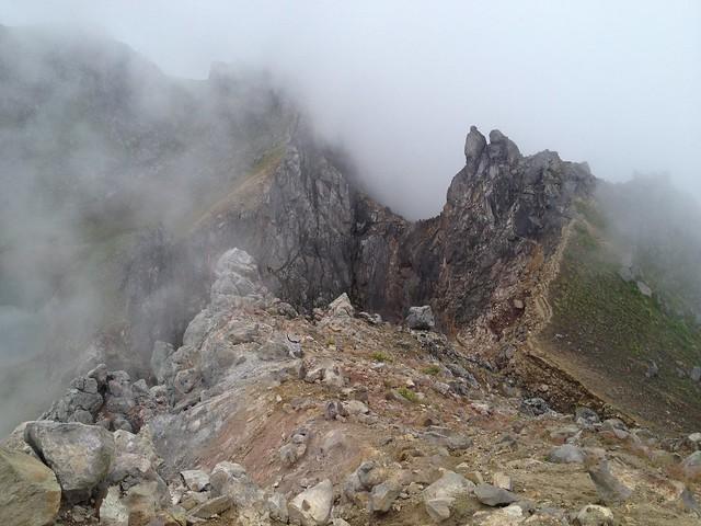焼岳 クレーター