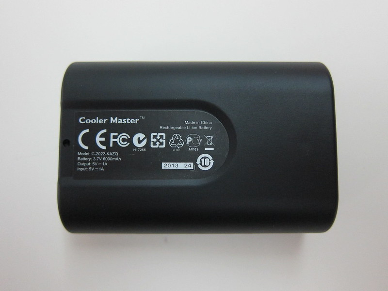 Cooler Master Power Fort 6,000mAh - Back