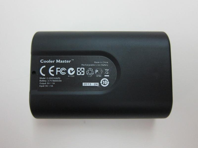 Cooler Master Power Fort 6,000mAh - Back