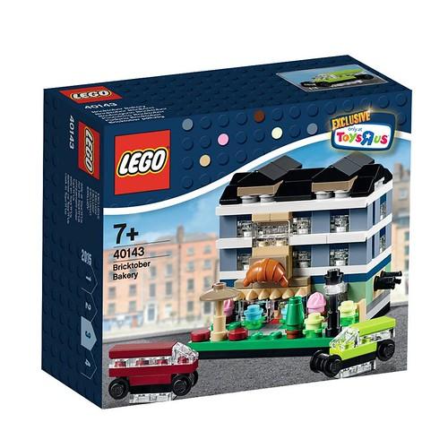 LEGO Bricktober Bakery 40143 Box