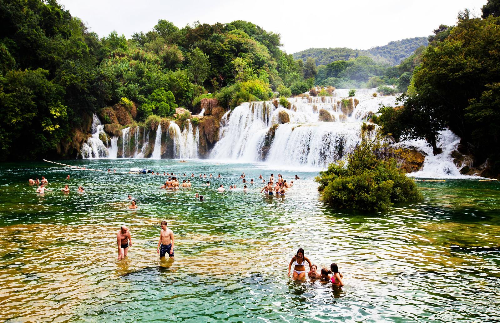 Krka National Park Krka waterfalls