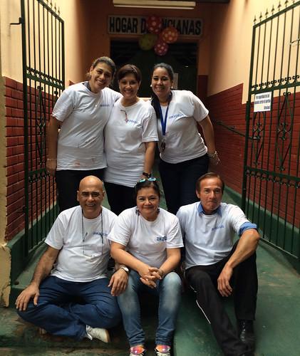 Amadeus Volunteer Day 2015 Paraguay