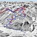 Mapa Silvretta Nova