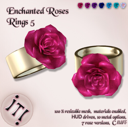 !IT! - Enchanted Roses Rings 5 Image