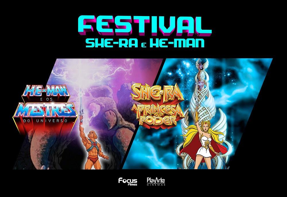 Os Clássicos He-Man e She-Ra nos cinemas durante todo o Mês de Outubro