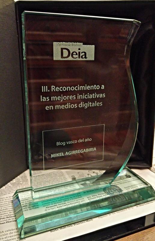 Premio DEIA al Mejor Blog