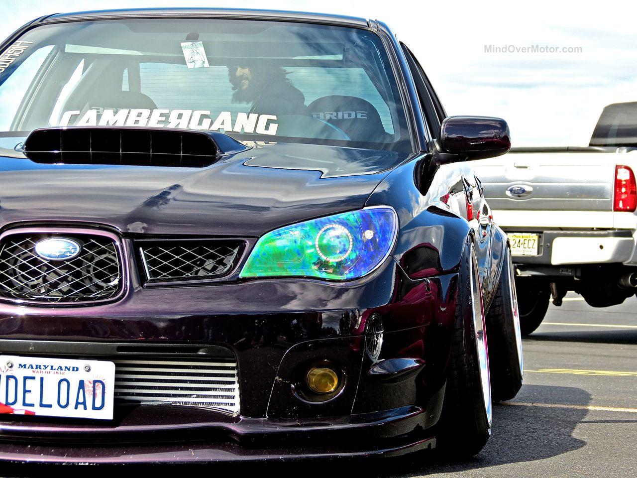 First Class Fitment Slammed Subaru WRX