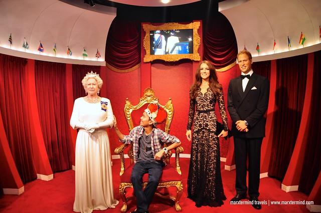 The Royalties at Madame Tussauds Sydney