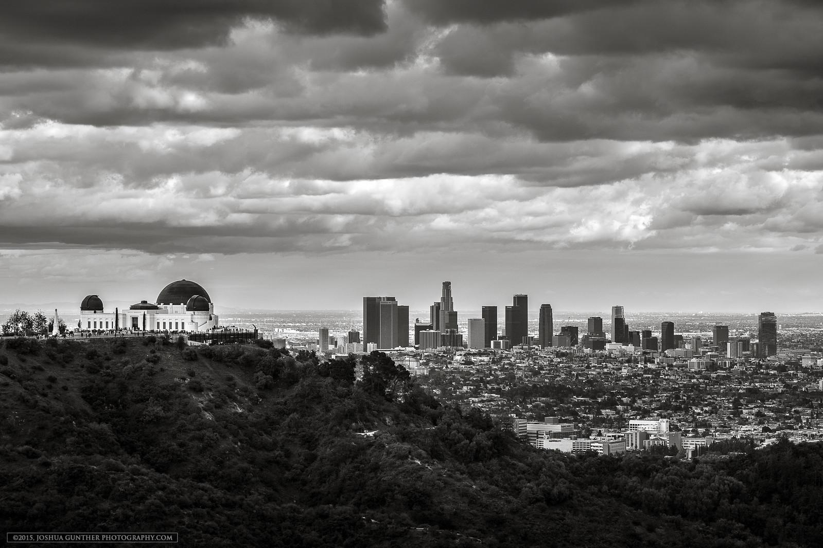 Griffith Park Storm