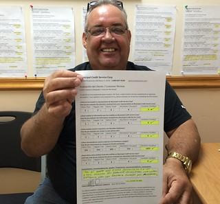 Carlos Calleja, Reparacion de Credito en Municipal Credit Service Corp Miami, FL