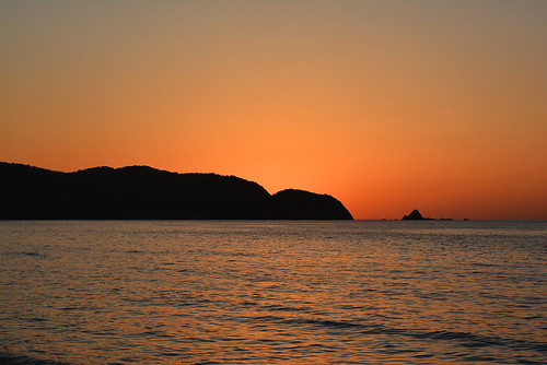 ocean sunset sea orange coast shimane asari sanin seaofjapan 島根 2485mm 山陰 gotsu 江津 d7100 浅利海岸