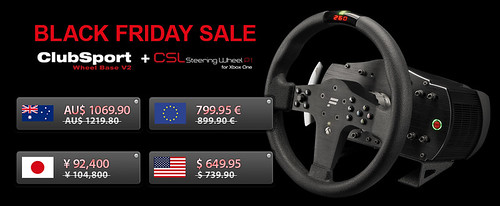 Fanatec Black Friday