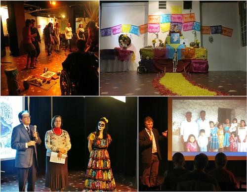 Inauguración del Día de los Muertos en el Centro Cultural Műszi