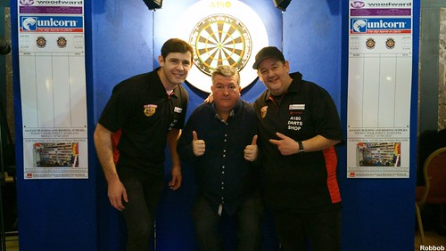 Celebrity Darts at St.Helens Town Hall