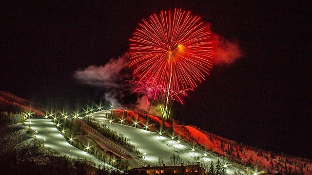 Fireworks over Steamboat
