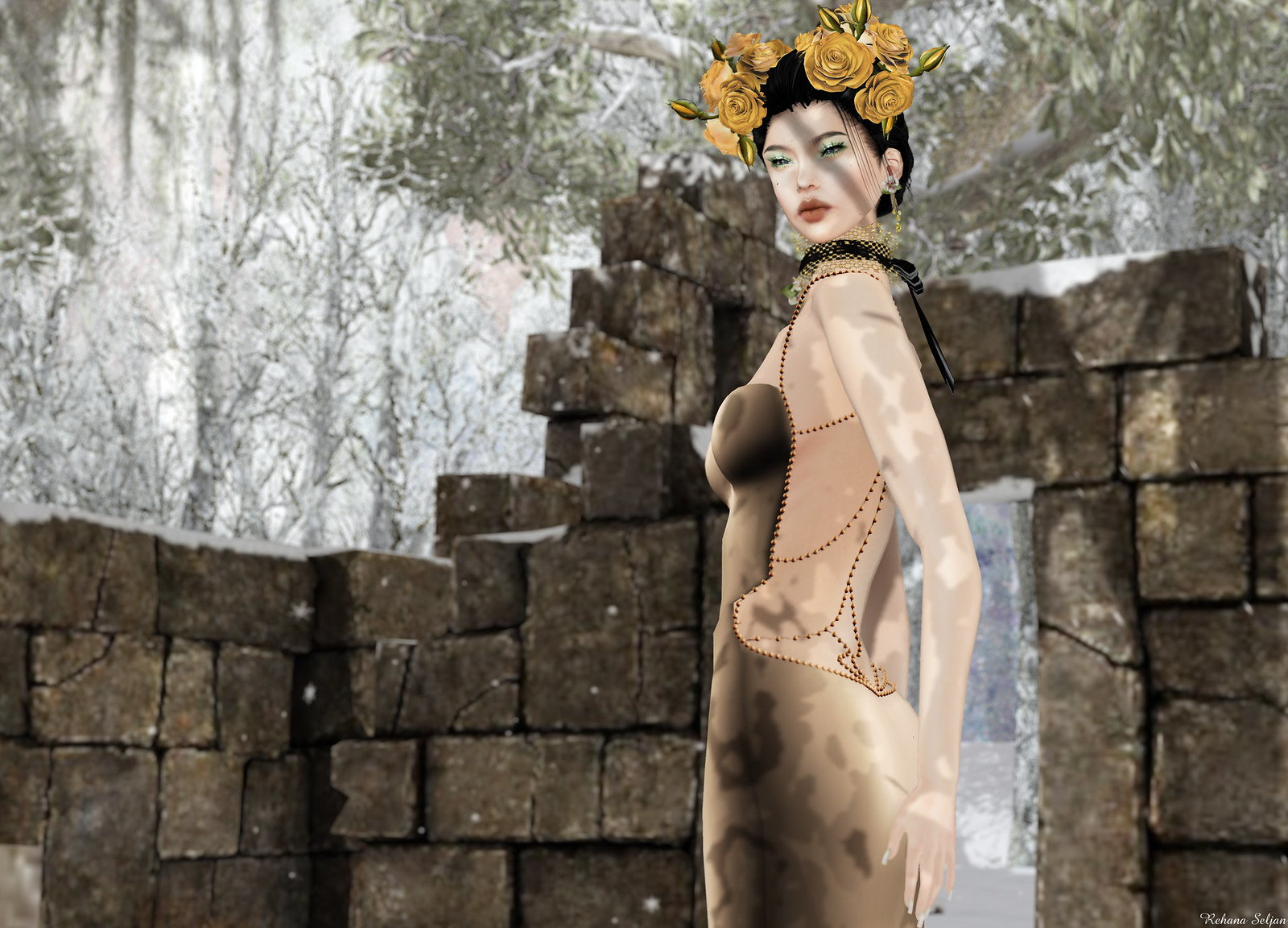 TOPAZIA - Liv Gown