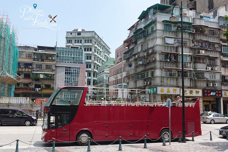 macau open top bus tour